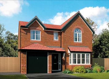 Thumbnail 4 bed detached house for sale in Primrose Meadow, Liverpool Road, Warrington