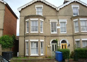 Thumbnail 1 bed flat to rent in Orford Street, Ipswich, Suffolk
