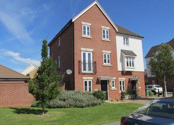 Thumbnail 4 bed semi-detached house for sale in Elbridge Avenue, North Bersted, Bognor Regis, West Sussex