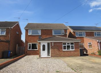 Thumbnail 4 bed detached house for sale in Epsom Drive, Ipswich
