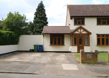 Thumbnail 4 bed terraced house to rent in Usk Road, South Ockendon, Essex