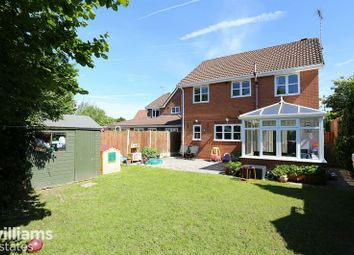Thumbnail 4 bed detached house for sale in Denbigh Close, Buckley