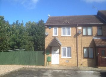 Thumbnail 1 bed terraced house to rent in Bosworth Close, Bletchley