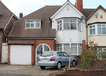 Thumbnail 4 bedroom semi-detached house for sale in Sandwell Road, Handsworth, Birmingham