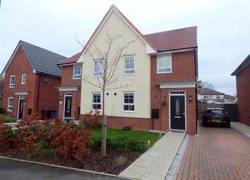 Thumbnail 4 bed semi-detached house for sale in Springwell Avenue, Huyton, Liverpool