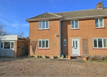 Thumbnail 3 bed semi-detached house for sale in Marsten Villas, Roudham Road, Harling Road, East Harling
