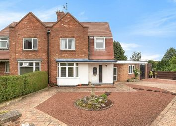 Thumbnail 3 bed semi-detached house for sale in Ostman Road, Off Beckfield Lane, York