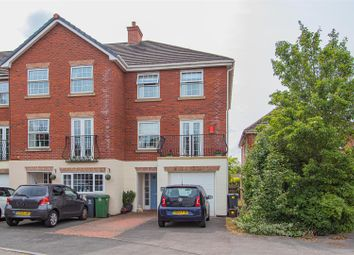 Thumbnail 4 bedroom town house for sale in Verallo Drive, Canton, Cardiff