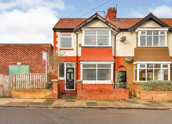 Thumbnail 3 bed end terrace house for sale in Thornhill Gardens, Hartlepool
