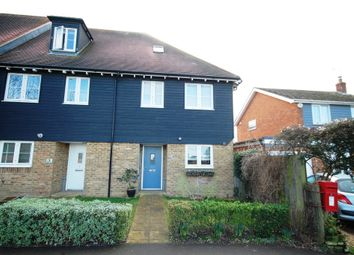 Thumbnail 3 bed end terrace house to rent in The Street, Boughton-Under-Blean, Faversham