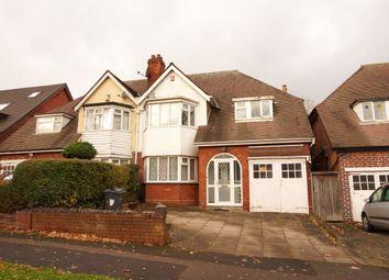 Thumbnail 4 bedroom semi-detached house to rent in Sandwell Road, Handsworth, Birmingham