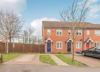 Thumbnail 2 bed end terrace house for sale in Knott Close, Stevenage, Hertfordshire, England