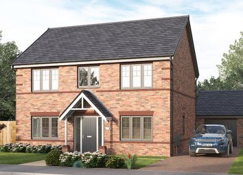 "Thumbnail 4 bed detached house for sale in ""The Lathbury"" at Market Street, Clay Cross, Chesterfield"