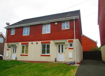 Thumbnail 3 bed semi-detached house for sale in Gors Avenue, Townhill, Swansea, City And County Of Swansea.