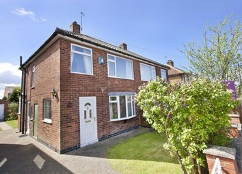 Thumbnail 3 bedroom semi-detached house for sale in Anthea Drive, York, North Yorkshire, England