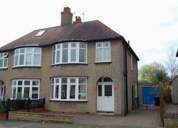Thumbnail 3 bed semi-detached house for sale in Park Way, Weston Favell Village, Northampton