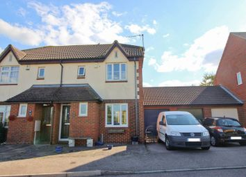 Thumbnail 3 bed semi-detached house for sale in Howlsmere Close, Halling, Rochester