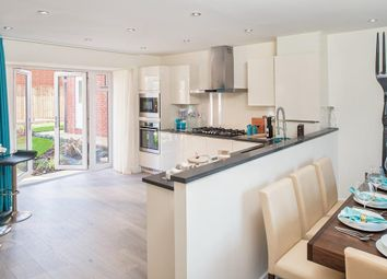 "Thumbnail 4 bed detached house for sale in ""Layton"" at Llantrisant Road, Capel Llanilltern, Cardiff"