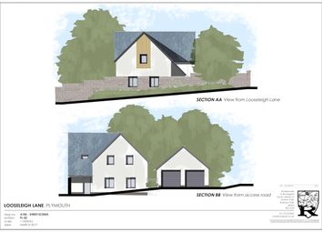 Thumbnail Land for sale in Building Plot, Looseleigh Lane, Plymouth
