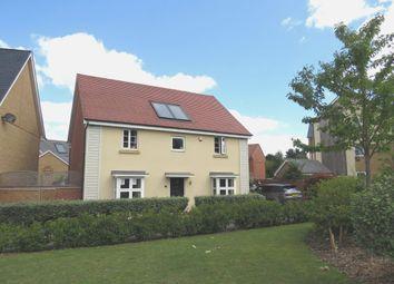 Thumbnail 4 bed detached house for sale in Windlass Close, Pineham Lock, Northampton