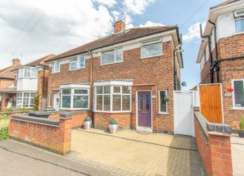 Thumbnail 3 bed semi-detached house for sale in Averil Road, Leicester