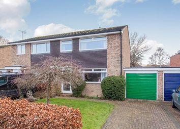Thumbnail 3 bed semi-detached house for sale in Challanger Close, Paddock Wood, Tonbridge, Kent