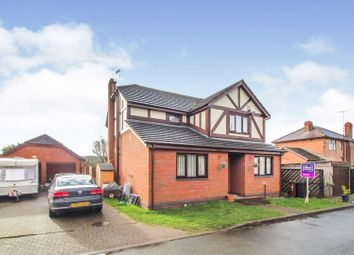 Thumbnail 4 bed detached house for sale in Rosslyn Close, Hawarden