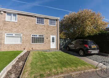 Thumbnail 3 bed semi-detached house for sale in Hollowfield, Coulby Newham, Middlesbrough