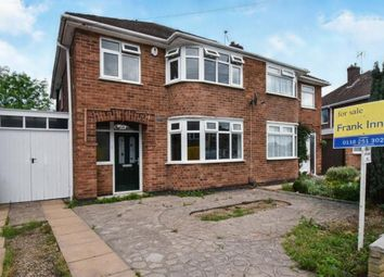 Thumbnail 3 bed semi-detached house for sale in Stonehurst Road, Leicester, Leicestershire