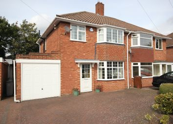 Thumbnail 3 bedroom semi-detached house for sale in Rowlands Crescent, Solihull