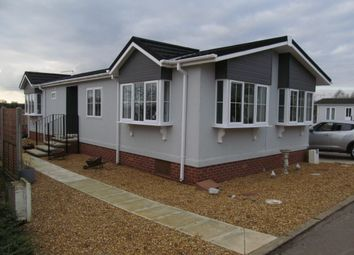 Thumbnail 2 bed mobile/park home for sale in The Drove, Bedwell Park, Witchford, Ely
