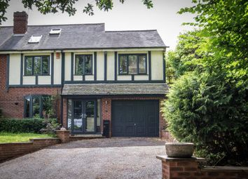 Thumbnail 4 bed semi-detached house for sale in Church Lane, Lapworth, Solihull