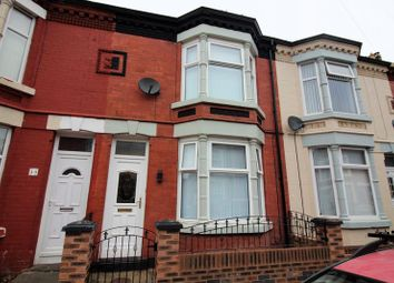 Thumbnail 2 bedroom terraced house for sale in Croxteth Road, Bootle