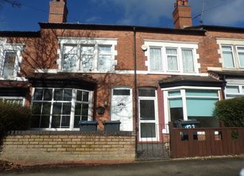 Thumbnail 2 bed terraced house to rent in Rosary Road, Erdington, Birmingham