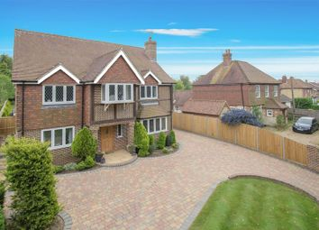 Thumbnail 4 bed detached house for sale in Moorstock Lane, Sellindge, Ashford