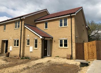 Thumbnail 3 bedroom end terrace house for sale in Dunstall Close, Offord Cluny