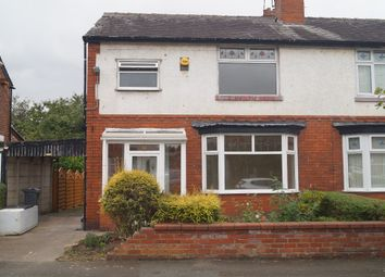 Thumbnail 3 bed semi-detached house to rent in Kempton Rd, Burnage, Manchester