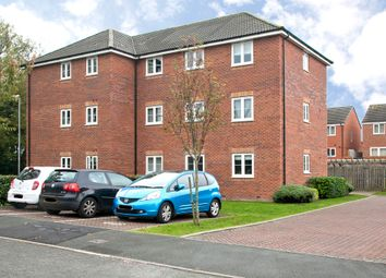 Thumbnail 2 bed flat for sale in Snowgoose Way, Newcastle-Under-Lyme