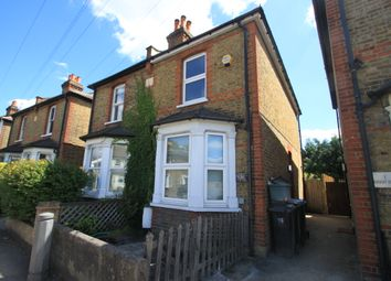 Thumbnail 3 bed semi-detached house to rent in Hawks Road, Kingston Upon Thames, Surrey