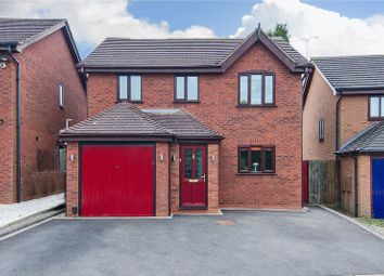 Thumbnail 4 bed detached house for sale in Yew Close, Armitage, Rugeley