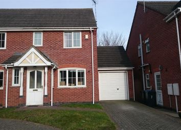 Thumbnail 3 bed semi-detached house for sale in Chapman Close, Barlestone, Nuneaton