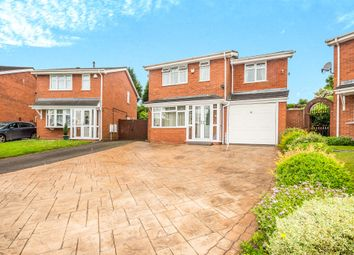 Thumbnail 4 bed detached house for sale in Fawley Close, Willenhall