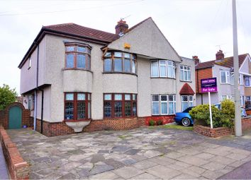 Thumbnail 4 bed semi-detached house for sale in Sherwood Road, Welling