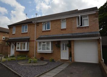 Thumbnail 4 bed semi-detached house for sale in Medway Close, Taunton, Somerset