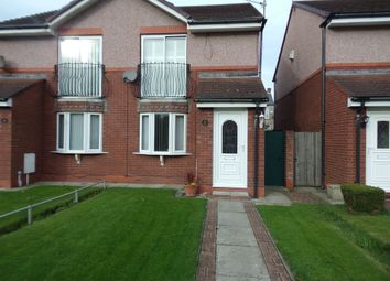 Thumbnail 2 bedroom semi-detached house for sale in Hedley Court, Blyth