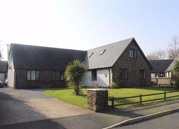 Thumbnail Detached bungalow for sale in Cleddau Close, Llangwm, Haverfordwest
