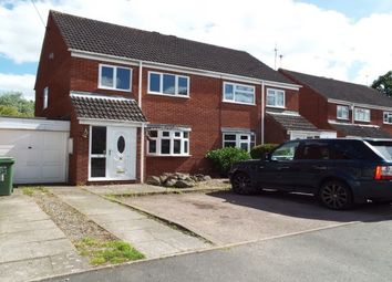 Thumbnail 3 bed property to rent in Lassington Close, Redditch