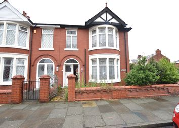 Thumbnail 3 bedroom end terrace house for sale in Scarsdale Avenue, Blackpool, Lancashire