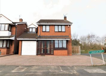 Thumbnail 4 bed detached house to rent in Laburnum Croft, Tividale, Oldbury