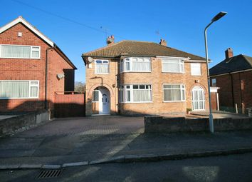 Thumbnail 3 bed semi-detached house for sale in Ryegate Crescent, Birstall, Leicester